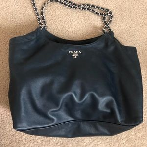 PRICE IS FIRM....,Authentic Prada Chain Large Bag